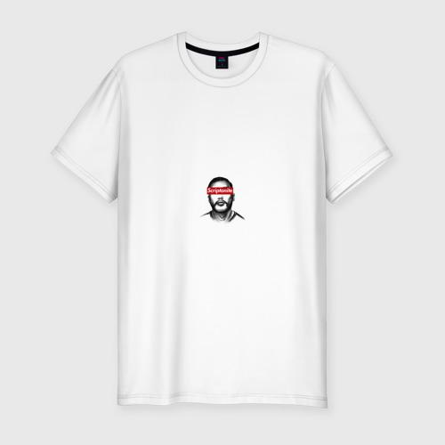 Мужская футболка хлопок Slim Скриптонит