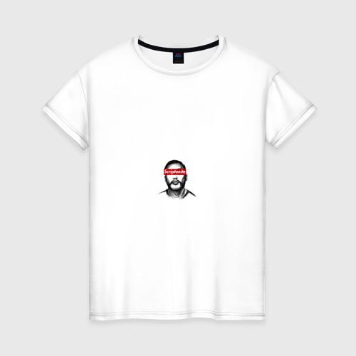 Женская футболка хлопок Скриптонит