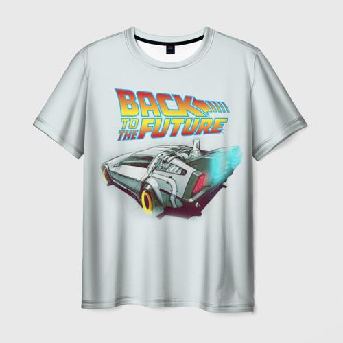 Мужская футболка 3D Back to the future_4