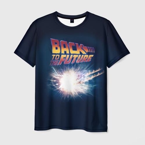 Мужская футболка 3D Back to the future_8