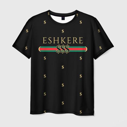 Мужская футболка 3D FACE Eshkere GG Style