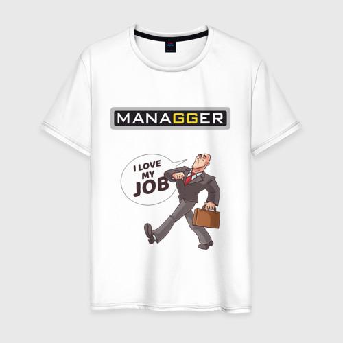 Мужская футболка хлопок MANAGGER