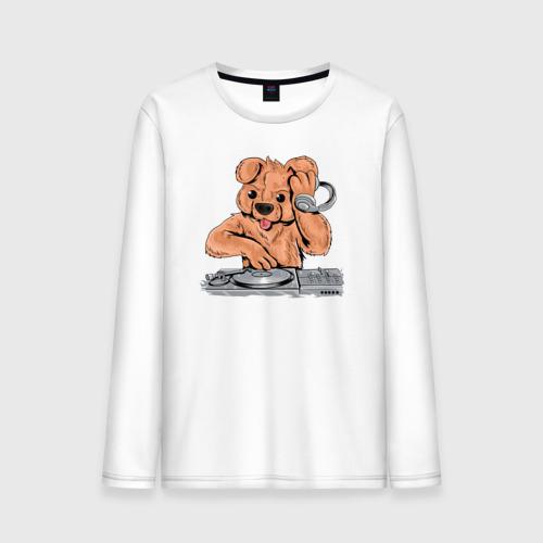 Мужской лонгслив хлопок DJ Медведь