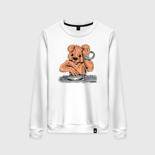 Женский свитшот хлопок DJ Медведь