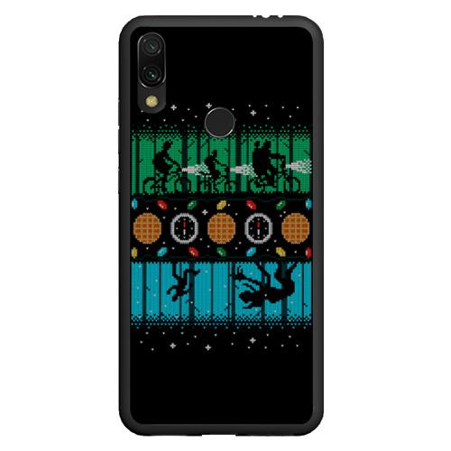 Чехол для Xiaomi Redmi Note 7 Очень странные дела -Новый Год