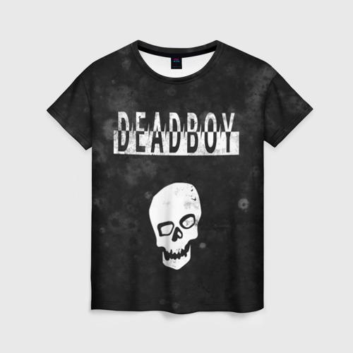 Женская футболка 3D BONES DEADBOY / SESH