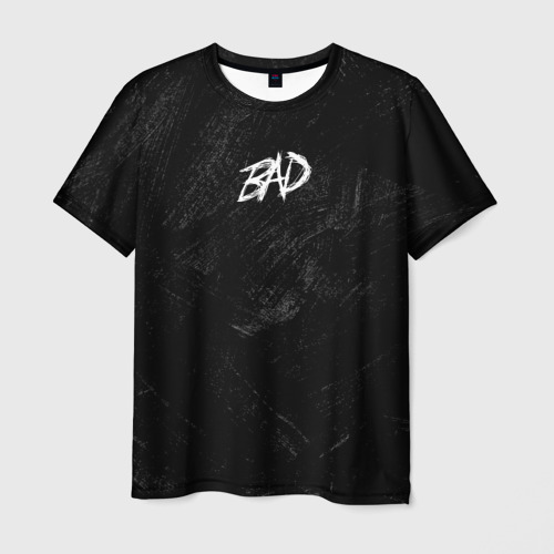 Мужская футболка 3D XXXBAD: I Hate Love (на спине)