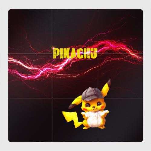 Магнитный плакат 3Х3 Электрический Пикачу