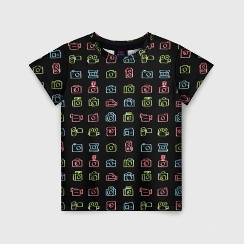 Детская футболка 3D photography