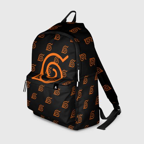 Рюкзак 3D Знак скрытого листа (Naruto) 1