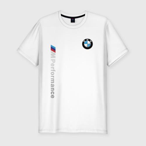 Мужская футболка хлопок Slim BMW M PERFORMANCE | БМВ