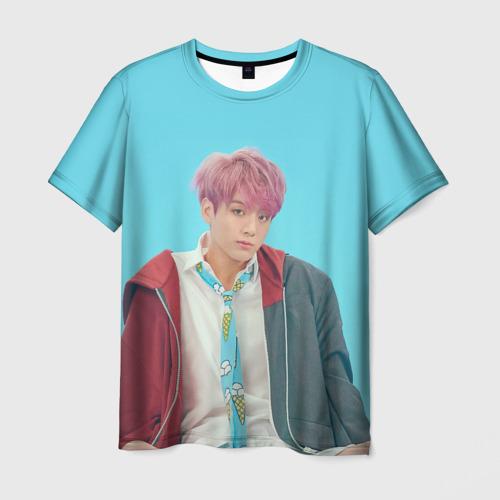 Мужская футболка 3D BTS. Jungkook