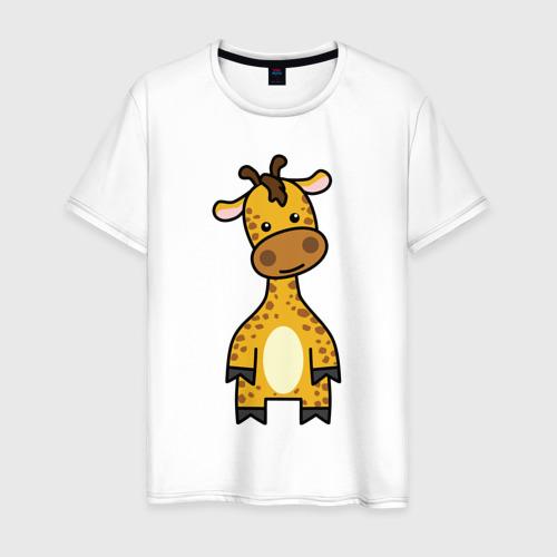 Мужская футболка хлопок Зверинец