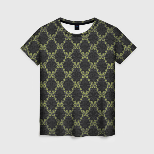 Женская футболка 3D Victorian - 36577512ik