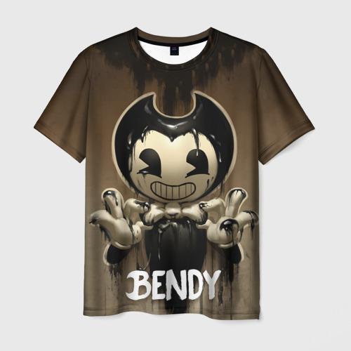 Мужская футболка 3D Bendy