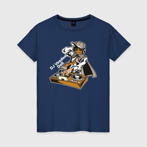 Женская футболка хлопок DJ Вуду