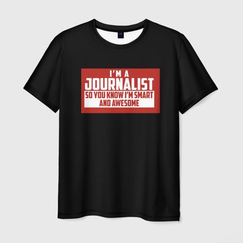 Мужская футболка 3D Iam Journalist