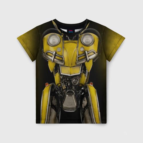 Детская футболка 3D Костюм Бамблби