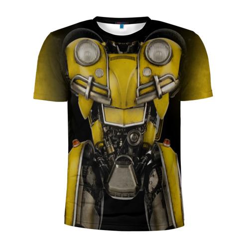 Мужская футболка 3D спортивная Костюм Бамблби