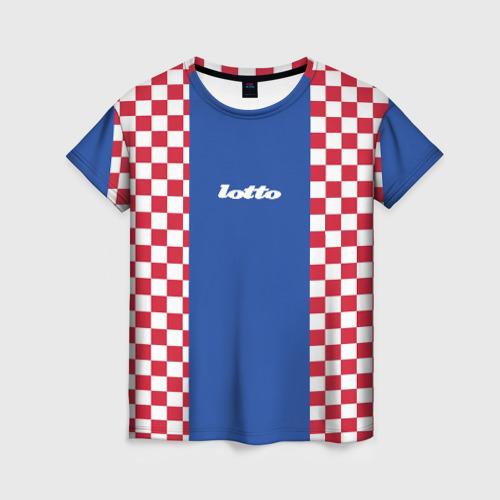 Женская футболка 3D Форма lotto