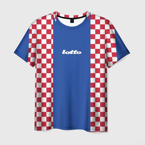 Мужская футболка 3D Форма lotto