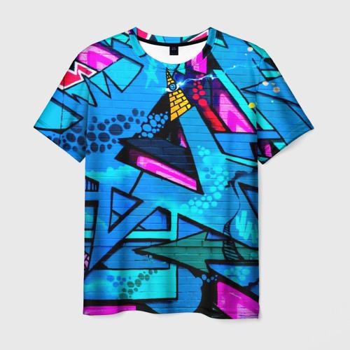 Мужская футболка 3D GRAFFITY