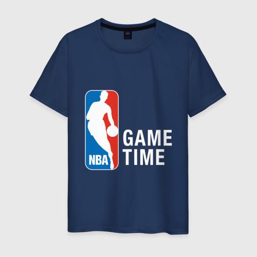 Мужская футболка хлопок NBA - Game Time