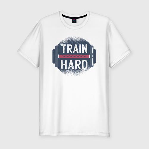 Мужская футболка хлопок Slim Тренировка