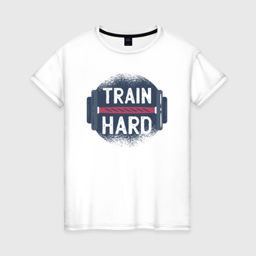 Женская футболка хлопок Тренировка