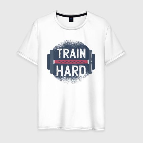 Мужская футболка хлопок Тренировка