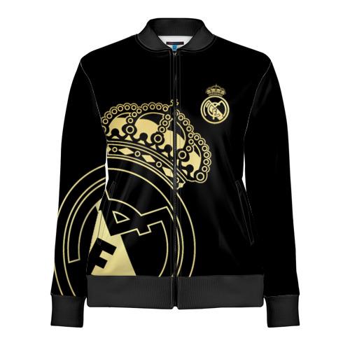 Женская олимпийка 3D Реал Мадрид