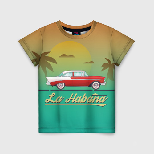 Детская футболка 3D La Habana
