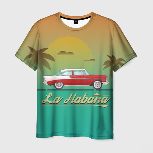 Мужская футболка 3D La Habana
