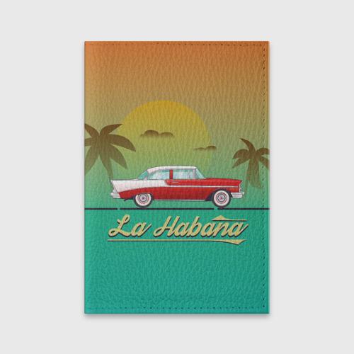 Обложка для паспорта матовая кожа La Habana