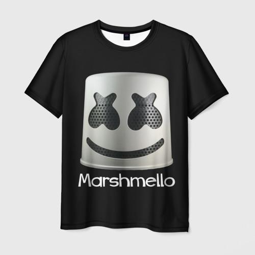 Мужская футболка 3D Marshmello