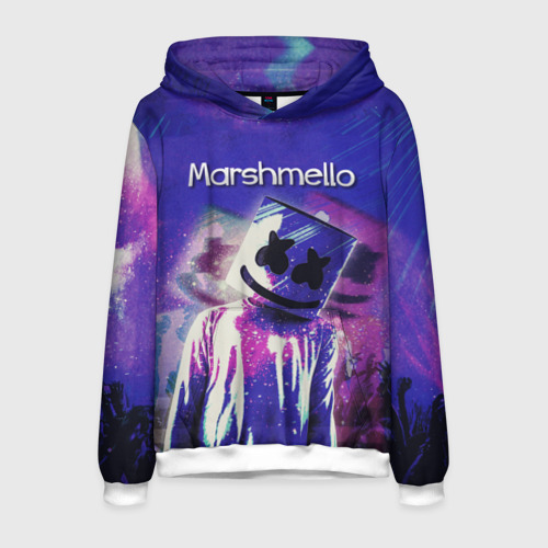 Мужская толстовка 3D Marshmello