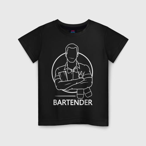 Детская футболка хлопок Bartender