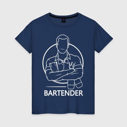 Женская футболка хлопок Bartender