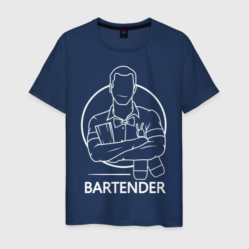 Мужская футболка хлопок Bartender