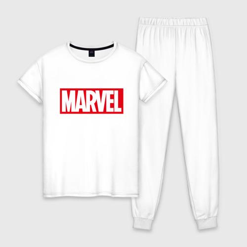 Женская пижама хлопок MARVEL