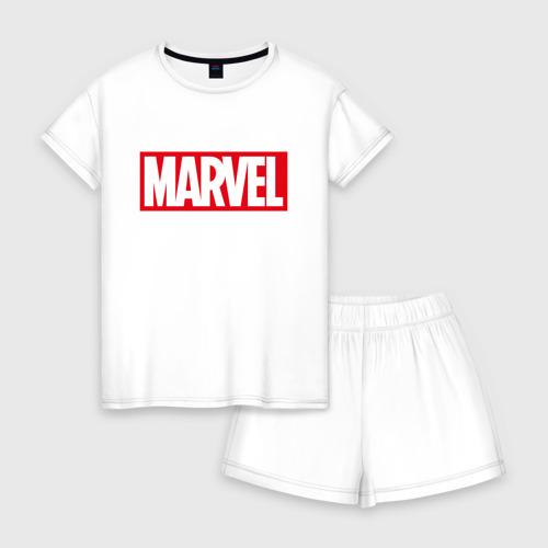 Женская пижама с шортиками хлопок MARVEL