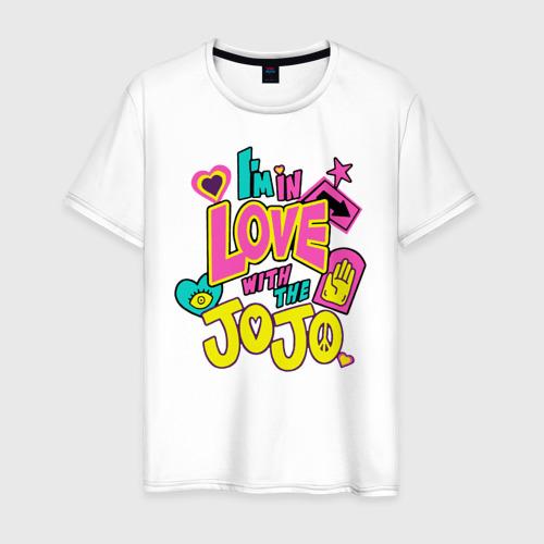 Мужская футболка хлопок Love JoJo
