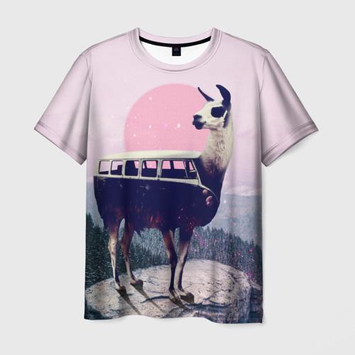 Мужская футболка 3D Lamabus