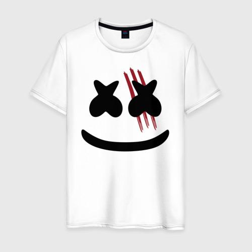 Мужская футболка хлопок Ведьмак Маршмеллоу