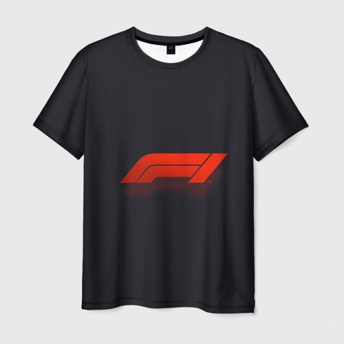 Мужская футболка 3D Formula 1 Logo