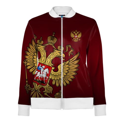 Женская олимпийка 3D Россия