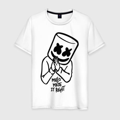 Мужская футболка хлопок Mello