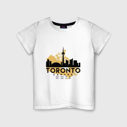 Детская футболка хлопок Торонто - Канада