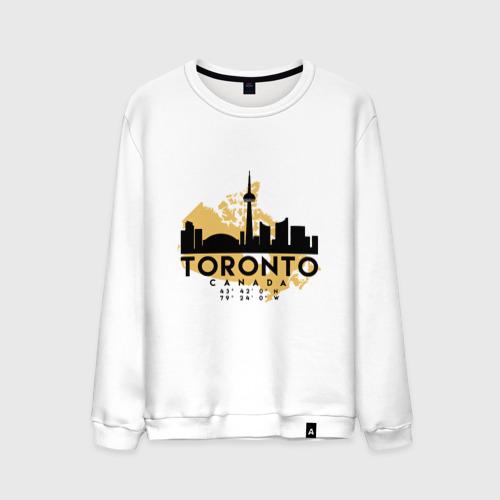 Мужской свитшот хлопок Торонто - Канада