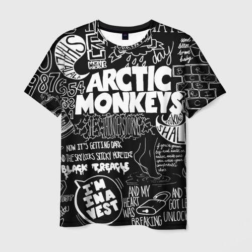 Мужская футболка 3D Arctic Monkeys